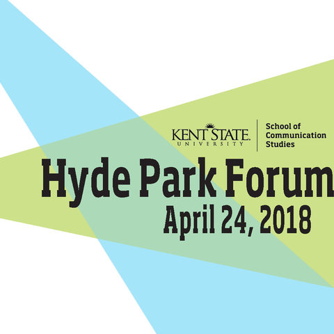 The School of Communication Studies hosts the Hyde Park Forum each spring which pits Introduction to Human Communication students against one another using persuasive public discourse with clear calls to action.