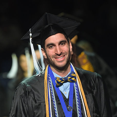 Kent State Student at Commencement