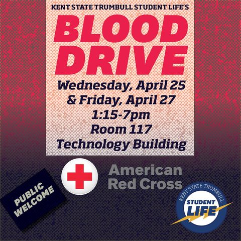 April 25 Blood Drive