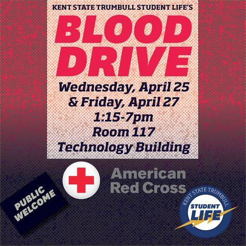 April 25 Blood Drive