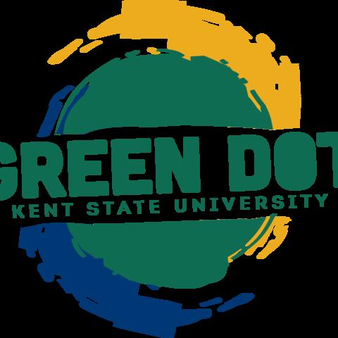 Kent State Green Dot Logo