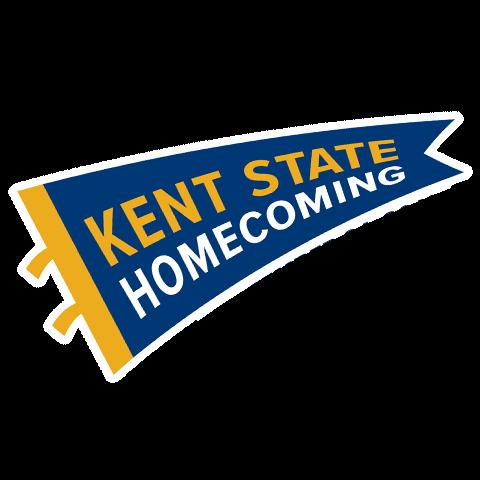 Kent State Homecoming Flag