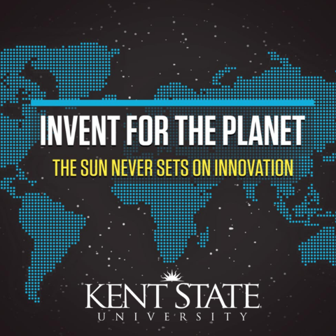 Invent for the planet at Kent State: February 15-17, 2019