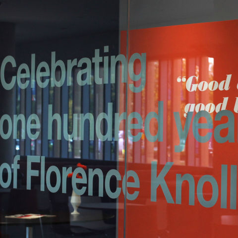 Celebrating one hundred years of Florence Knoll