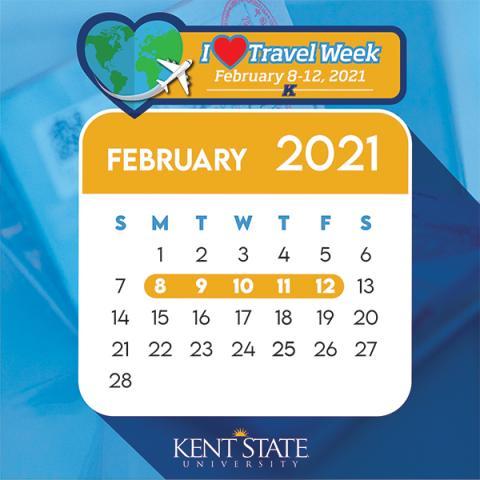 I Heart Travel Week February 8-12, 2021
