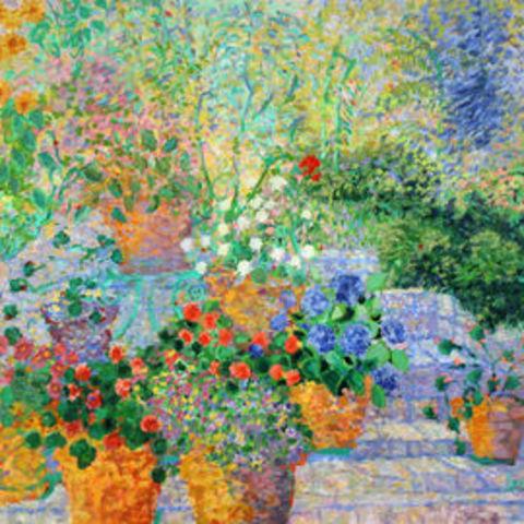 Blossoming Garden by School of Art alumna Jance Lentz-Hatch