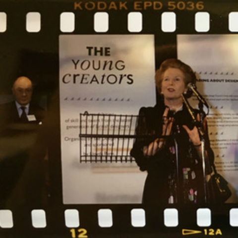 Margaret Thatcher at The Young Creators Gala