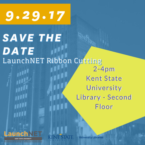LaunchNET Kent State Ribbon Cutting September 29, 2017