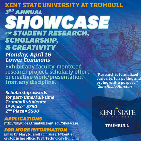 Showcase for Student Research, Scholarship, Creativity