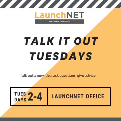 Talk it out Tuesdays at LaunchNET