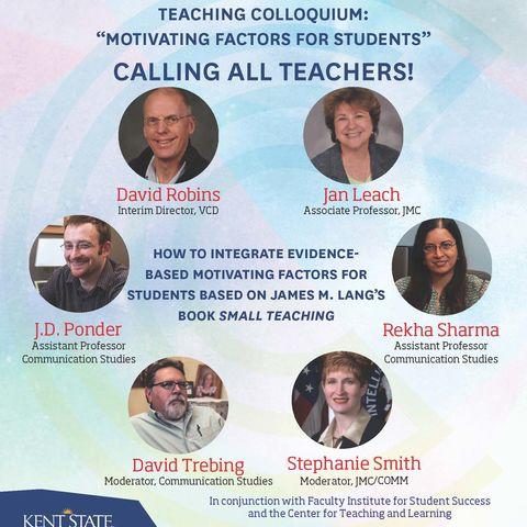 Teaching Colloquium Flyer