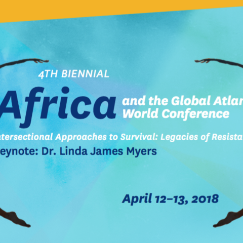 Africa and the Global Atlantic World Conference April 12-13, 2018