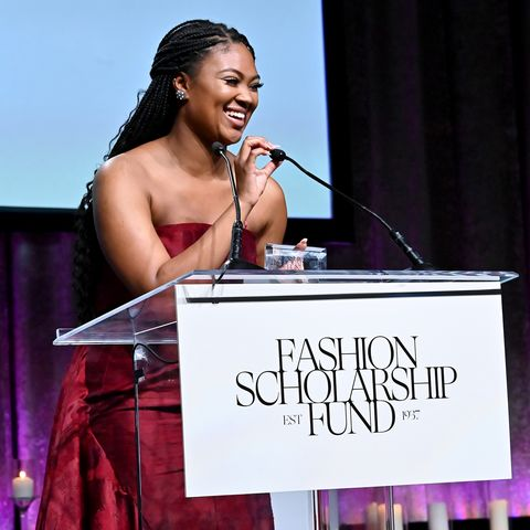 Kent State University Fashion School student wins the top award at the 2020 Fashion Scholarship Fund Gala in New York City.