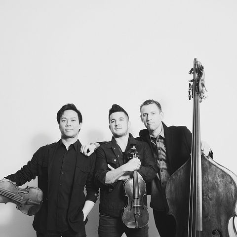 In collaboration with the Kulas Foundation, the 49th season of the Kent/Blossom Music Festival will include a special performance and master class by Time for Three, an American trio. (Photo credit: Shervin Lainez)