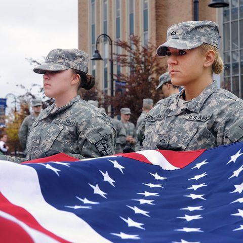 Kent State University's annual Veterans Day observance will include a flag-raising ceremony conducted by a joint color guard from the university's Army and Air Force ROTC programs.