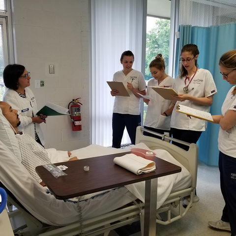 BSN Students with Patient