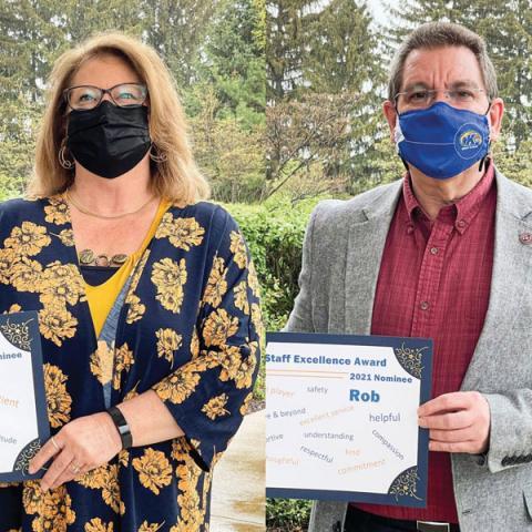 2021 Staff Excellence Award Recipients