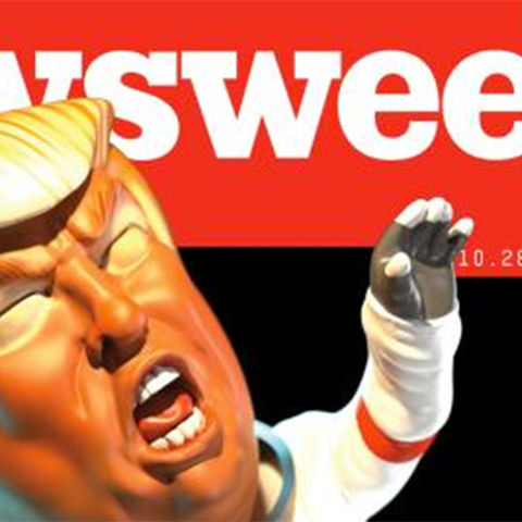 Newsweek October 28 Issue - Cover by Wesley Bedrosian