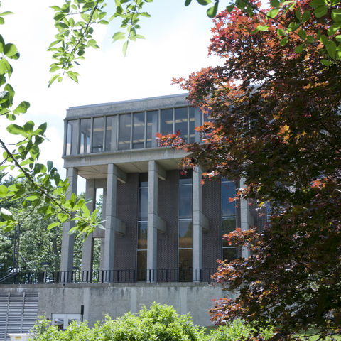Taylor Hall is home to the Schools of Communication Studies and Visual Communication Design. The School of Digital Sciences' staff will be in Taylor for the 2017-2018 academic year.
