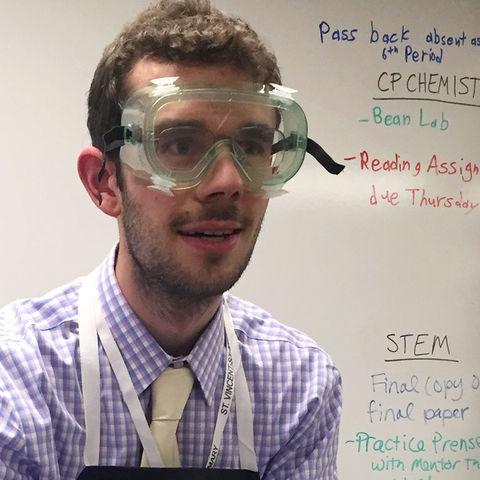 Honors student Andrew Jewett