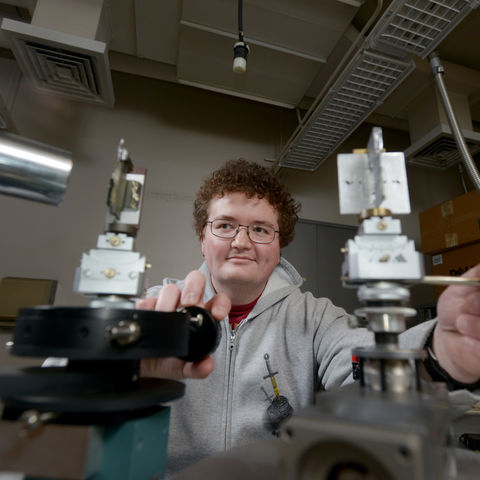 Physics Graduate Student Lewis Sharpnack will attend the Lindau Nobel Laureate Meeting in late June.