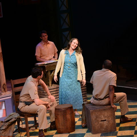 """Amy Fritsche was honored for her portrayal of the title character in Porthouse's 2015 production of """"Violet."""""""
