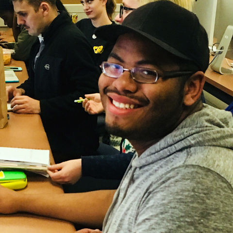 Journalism student Brandon Bounds is a 2018 News21 Fellow