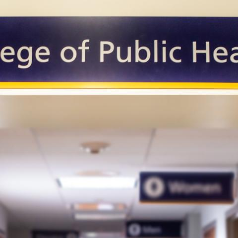 The College of Public Health in Moulton Hall