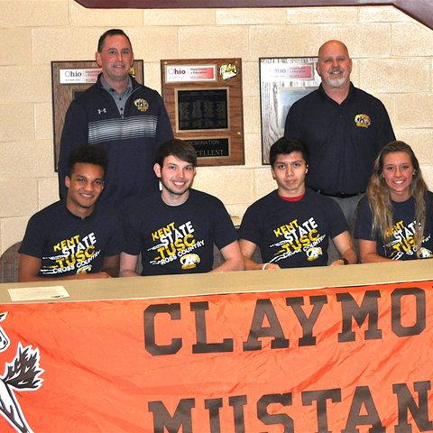 Claymont athletes