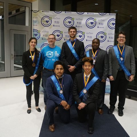 Kent State's team focused on diverting food waste from the landfill stream and converting it into electricity