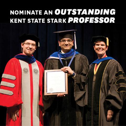 Distinguished Teaching Award and Award of Distinction at Kent State Stark