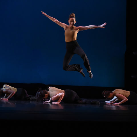 The Kent Dance Ensemble performs in concert.