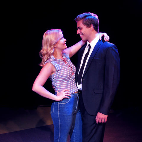 "Kent State University alumna Lindsay Simon and Paul Schwensen are ready to put on their dancing shoes in Porthouse Theatre's high-energy production of ""Footloose."""