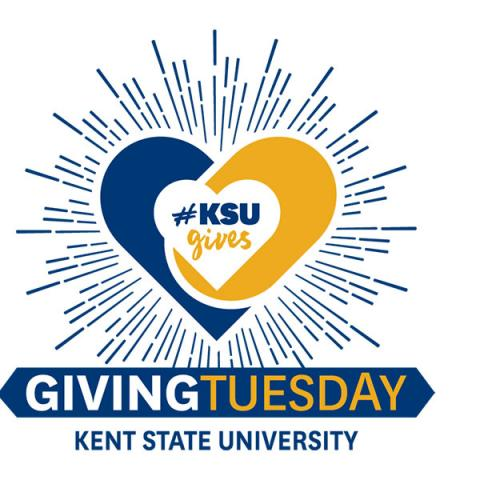 Kent State University Giving Tuesday logo