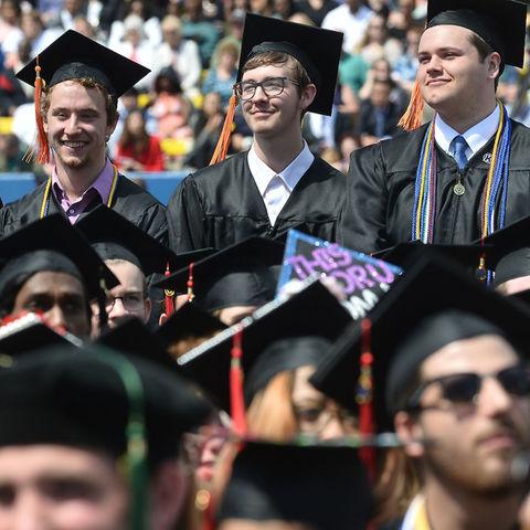 Kent State Students at Graduation