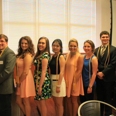 The School of Communication Studies hosts an annual program recognizing top graduate and undergraduate students.