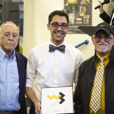 From left: j.Charles Walker, Joshua Bird, and John Brett Buchanan
