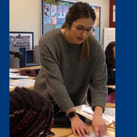 Honors student Jessica Beattie