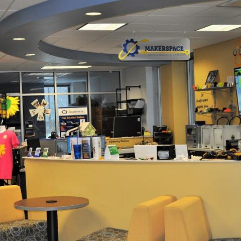 Picture of the Makerspace
