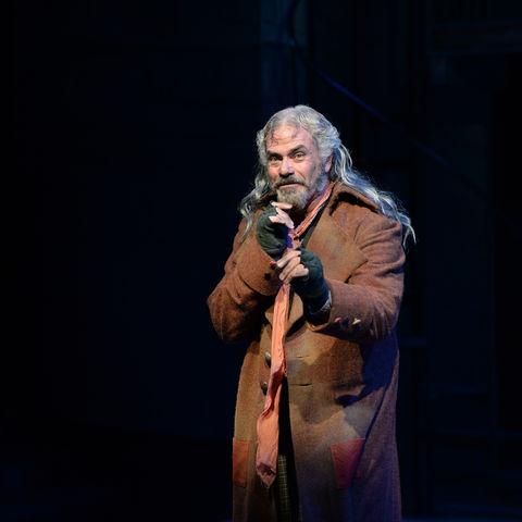 Eric van Baars as Fagin in 2014's Oliver!