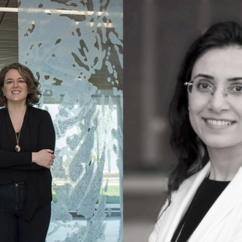 Taryn McMahon and Sara Bayramzadeh
