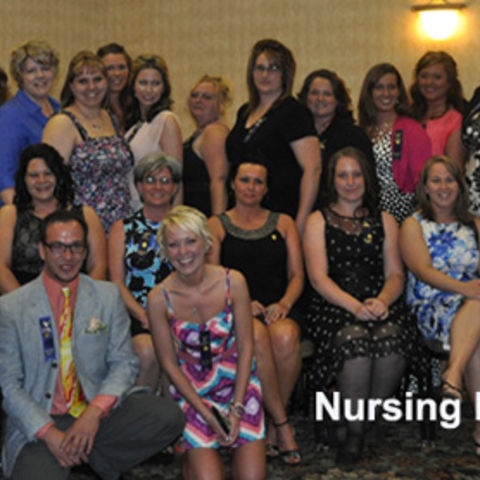 East Liverpool nursing class of 2013 at pinning ceremony