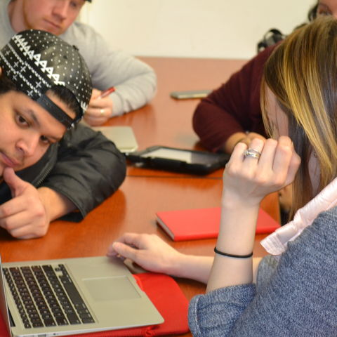 The students in Molly Taggart's Organizational Communication Training and Development class have started a company to utilize what they are learning in their coursework.