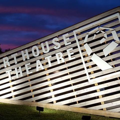 Photo of Porthouse Theatre sign