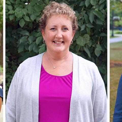Three new full-time faculty members are contributing their knowledge and expertise to College of Nursing research endeavors.