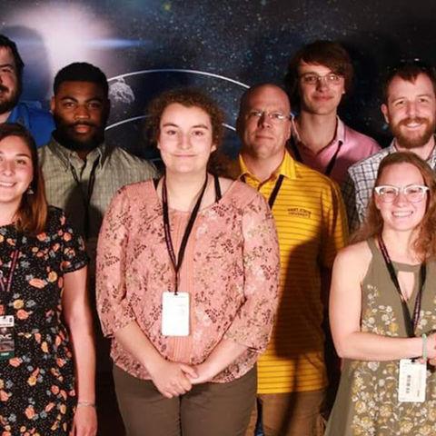 Kent State Robotics Team Places Receives Third Place Award in NASA Robotics Mining Competition