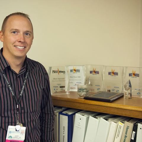 Jason Shawbell, M.S. 2013, Systems Administrator, Nursing Informatics, Akron General Medical Center