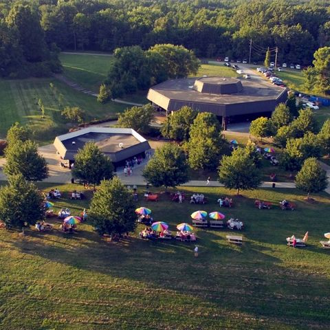 Aerial view of Porthouse