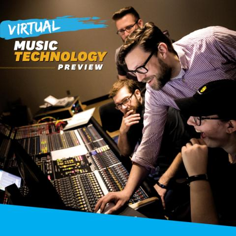 Virtual Music Technology Preview on Oct. 23