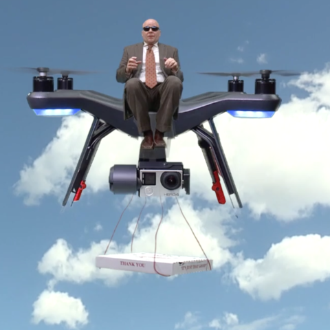 WEWS visits Kent State University to learn about drones.